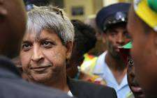 FILE: Wits University vice chancellor Adam Habib talks to student representatives during protests at the institution over proposed tuition fee increases. Picture: Reinart Toerien/EWN.