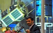 President Mahmoud Ahmadinejad. Picture: AFP