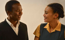 Lead actor Thabo Rametsi alongside Pearl Thusi who plays the role of Brenda in the biopic 'Kalushi'. Picture: Supplied