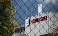 This picture was taken on 14 September 2018 shows the Spiez Laboratory, Swiss Federal Institute for NBC-Protection (nuclear, biological, chemical), in Spiez, 40km from the capital Bern, as Swiss newspapers reported that two Russian agents suspected of trying to spy the laboratory were arrested in the Netherlands and expelled early this year. Picture: AFP