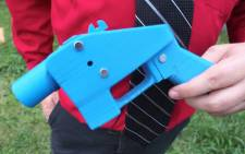 FILE: A 3D printed gun. Picture: AFP