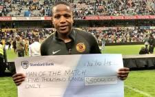 Kaizer Chiefs midfielder Lebogang Manyama. Picture: @KaizerChiefs/Twitter
