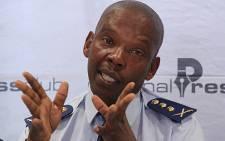 Gauteng Commissioner Mzwandile Petros. Picture: Taurai Maduna/Eyewitness New