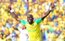 FILE: A Mamelodi Sundowns player celebrates a goal. Picture: @ Masandawana via Twitter.