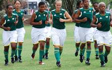 FILE: Banyana Banyana training session at Rhodesfield Technical High School. Picture: EWN.