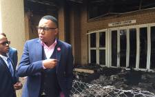 FILE: Deputy Higher Education Minister Mduduzi Manana at the North West University. Picture: EWN.