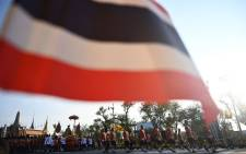 The Thailand flag. Picture: AFP