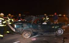 FILE: ER24 says a man was also injured during the accident in what appears to have been a head on collision. Picture nizaar@mnmevent.co.za