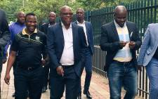 The KZN ANC's provincial executive committee arrives at the  Pietermaritzburg High Court on 30 November, 2017 for their application for leave to appeal the September judgment. Picture: Ziyanda Ngcobo/EWN