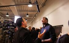 FILE: Mathew Knowles gets interviewed before a screening of 'Concussion' in Houston, Texas 19 December 2015. Picture: AFP.