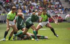 The Blitzboks faced Zimbabwe in their opening game of the inaugural Cape Town Sevens tournament on 12 December 2015. Picture: Aletta Harrison/EWN.