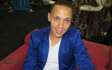 Rhema Varrie in happier days before being eliminated from Idols SA. Picture: Louise McAuliffe/EWN
