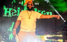 Rick Ross performing at the Heineken summer activation in Kramerville, Johannesburg. Picture: Supplied.