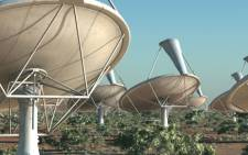 An artists impression of SKA dishes, close up. Picture: www.ska.ac.za.