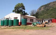 The houses belonging to the Mancoba Seven Angels Ministries Church  Picture: Bertram Malgas/EWN