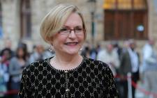 Western Cape Premier Helen Zille wore a second-hand dress she had purchased from a vintage store in Hermanus.