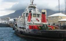 A tugboat in the harbour at Cape Town's V&A Waterfront. Picture: Danya Philander/Eyewitness News.