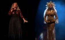 Adele won more trophies, but she and Beyonce both rocked the 59th Grammy Awards.