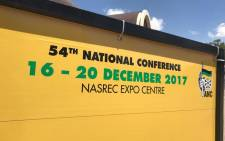 FILE: ANC 54th national conference at Nasrec in Soweto. Picture: Christa Eybers/EWN.