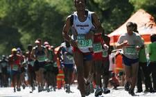 FILE: Athletes take part in a marathon. Picture: EWN