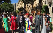 Guests arrive for the 2017 State of the Nation Address in Parliament, Cape Town. Picture: Natalie Malgas/EWN