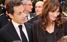 France's former first lady Carla Bruni. Picture: AFP
