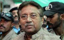 Pakistani former army chief and president Pervez Musharraf. Picture: AFP