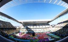 The opening ceremony of the 2014 Fifa World Cup at Arena Corinthians stadium in Sao Paulo on 12 June 2014. Picture: Fifa.