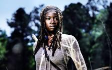 Danai Gurira who plays Michonne on the AMC horror-drama series The Walking Dead. Picture: @TheWalkingDeadAMC/Facebook.com.