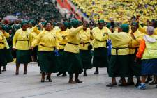 Worshippers gather at FNB Stadium for the Motsepe Foundation National Day of Prayer. Picture: Twitter @MotsepeFoundtn/Twitter.