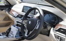 The new BMW 7 series. Picture: Jacob Moshokoa/EWN.