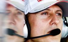 FILE: Michael Schumacher. Picture: EPA.