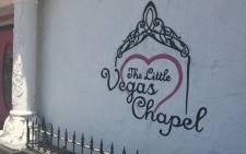 The Little Vegas Chapel. Picture: Giovanna Gerbi/EWN.