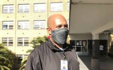 Tygerberg Hospital's chief porter Anthony McKenzie (36) was diagnosed with coronavirus in April and later recovered. Picture: Supplied.