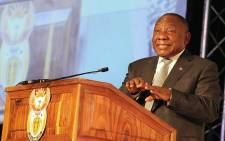 FILE: President Cyril Ramaphosa addresses delegates at the 2018 Jobs Summit on 5 October 2018. Picture: @PresidencyZA/Twitter