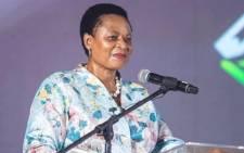 FILE: Basic Education Deputy Minister Reginah Mhaule. Picture: @ReginahMhaul/Twitter.