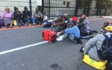 FILE: Pensioners protest at Parliament on 5 May 2016. Picture: Xolani Koyana/EWN.