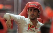 Formula One championship leader Fernando Alonso. Picture: AFP