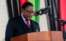 FILE: Malawi President Lazarus Chakwera. Picture: @LazarusChakwera/Twitter.