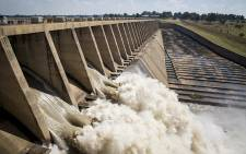 Approximately 400,000 cubic meters of water was released from the Vaal dam on 26 February 2017 after the dam reached 97.8 % capacity following heavy rains across Gauteng. Picture: EWN