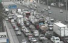 FILE: A screengrab of Johannesburg traffic along the N1 South. Picture: EWN Traffic