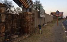 Rescue operations have been halted at the George Harrison Park because of a fire that broke out. Picture: Masa Kekana/EWN.