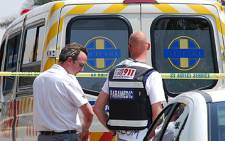 A worker fell through a Benoni warehouse and died.