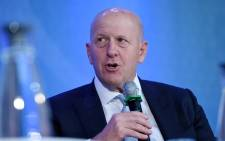 "In this file photo Goldman Sachs CEO David Michael Solomon speaks during a discussion on ""Women Entrepreneurs Through Finance and Markets"" at the World Bank on October 18, 2019 in Washington, DC. Picture: Olivier Douliery / AFP."