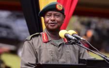 FILE: Uganda's President Yoweri Museveni. Picture: @KagutaMuseveni