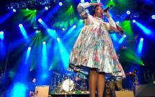 Shekhinah performs on stage at the free concert in Greenmarket Square in Cape Town on 27 March 2019. The concert is a pre-cursor to Cape Town International Jazz Festival. Picture: Kaylynn Palm/EWN