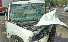 Three people were killed and seven others injured on N4 in Nelspruit Mpumalanga. Picture: Twitter @Netcare911_sa.