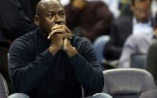 Michael Jordan, owner of the Charlotte Bobcats watches on during their game against the Indiana Pacers at Time Warner Cable Arena on January 15, 2013 in Charlotte, North Carolina. Picture: Streeter Lecka/Getty Images/AFP