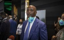 New president of the Confederation of African Football (CAF), Patrice Motsepe, is pictured during a break at the 43rd CAF General Assembly, on 12 March 2021, in the Moroccan capital Rabat. Picture: Fadel Senna/AFP