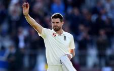 England bowler James Anderson. Picture: @jimmy9/Twitter